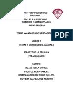 Reporte de La Pelicula Freakonomics (2)