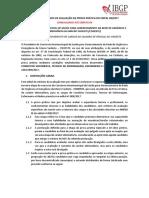 Regulamento Da Prova Prática - Consolidado Até Errata 04