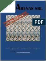 Brochure Arenas