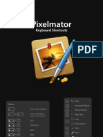 Pixelmator Shortcuts