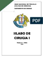 Silabo de Cirugia i 2018