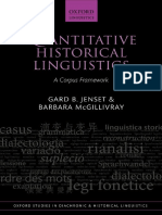 Quantitative Historical Linguistics a Corpus Framework (Oxford Studies in Diachronic and Historical Linguistics)