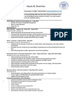updated resume 2018