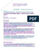 CONTROL SERIES - To Keep & Bear Arms - What Does Heart Say ?