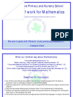 2014 Maths Scheme of Work Final