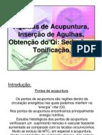acupuntura agulhamento
