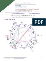 Exemple d' Analyse Du Theme Natal
