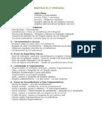 Planejamento Matemática III