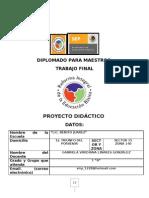 Proyecto Mod. 3 Gabriela