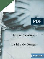 NADINE GORDIMER- LA HIJA DE BURGUER.pdf