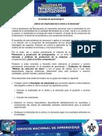 Evidencia 1 Informe Analisis de Elasticidad de La Oferta y La Demanda