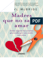 Madres Que No Saben Amar - Karyl McBride