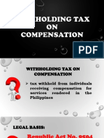 Tax on Compensation