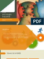 Introducción a La Psicología Industrial