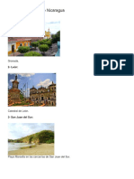 Lugares Turísticos de Nicaragua