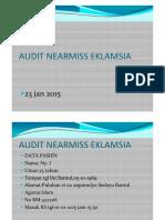 Audit Nearmiss Eklamsia 2015