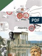 Desarrollo de la Filosofía en Grecia