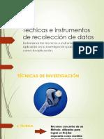 CLASE 4 Técnicas e instrumentos de recolección de datos.pptx