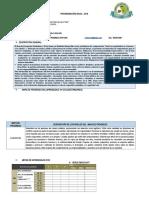 Programación Anual 2018 Ffc 2do