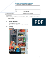 English III Module 5 Foods and Drinks Quantifiers Countables and Noncountables