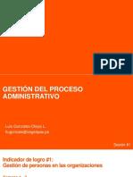 Gestión de Proceso Administrativo  - Sesión 1 - Lgol