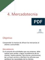 4. Mercadotecnia