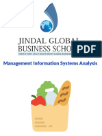Management Information Systems - Company Analysis