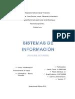 Sistemas de Información ACTIVIDAD I Original