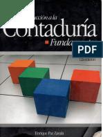 Introduccion a La Contaduria - Paz Zavala