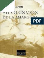 Silogismos de La Amargura - E. M. Cioran