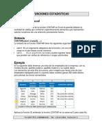 Contar en Excel