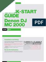 Denon Mc2000 Qsg