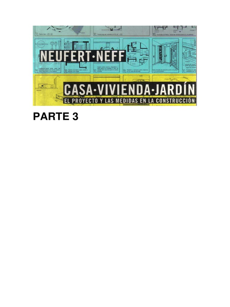 casa vivienda neufert 3 pdf rh es scribd com Casa Jardin Winter Park FL Casa Jardin Winter Park FL