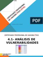 4.1 Escaneo de Vulnerabilidades Presentación