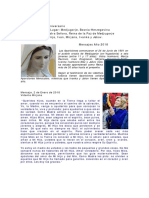 Reina de La Paz de Medjugorje Mensajes 2018