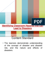 Identifying Classroom Hazard