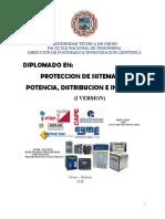 DIPLOMADO PROTECCION DE SISTEMAS DE POTENCIA, DISTRIBUCION E INDUSTRIA rev2.pdf