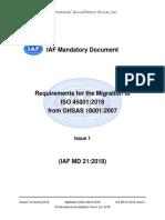 IAFMD21MigrationtoISO450012018Pub.pdf