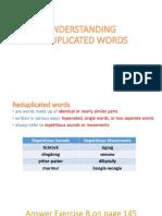 Understanding Reduplicated Words