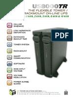PK UPS 2014 US8000TR_1-10KVA