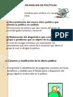 Clase v Metodología de Análisis de Políticas Públicas - Mideplan
