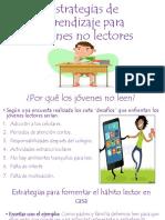 Estrategias de Aprendizaje Para Jóvenes No Lectores