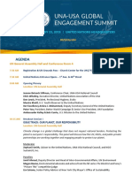 2018 global engagement summit agenda at-a-glance