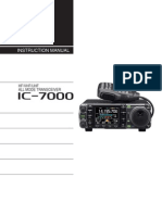 Icom IC-7000 Instruction Manual