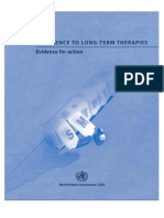 1 Who Adherence to Long Term Therapies