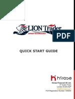 Liontrader Manual