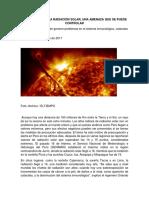 Los Efectos de La Radiación Solar