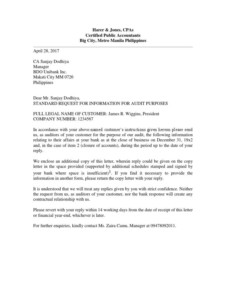 Bank Confirmation Letter | Financial Transaction | Banks