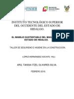 EL MANEJO SUSTENTABLE DEL MAGUEY DEL ESTADO DE HIDALGO.