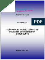 Guia para el manejo clinico de pacientes con fiebre por chikingunya - Nicaragua.pdf